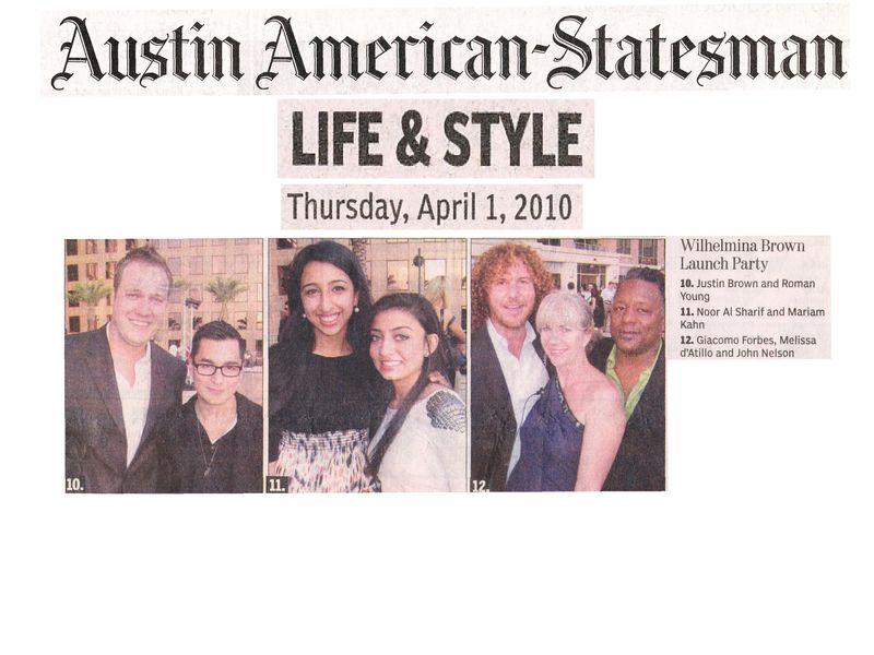 Austin American-Statesman Wilhelmina Brown 4.1